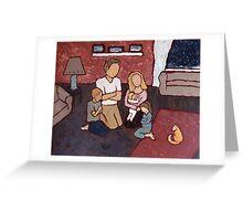 Family Prayer Greeting Card