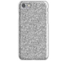 Silver Glitter iPhone Case/Skin