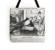 Reverse Psychology Punch Cartoon 1888 Tote Bag