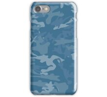 Blue Camouflage iPhone Case/Skin