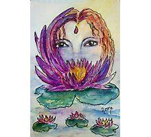 Water Lily - Linaji Photographic Print