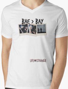 BAE > BAY Mens V-Neck T-Shirt