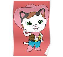 Wild West Sheriff Callies Poster