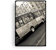 Fenway Trolley Canvas Print
