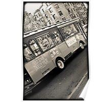 Fenway Trolley Poster