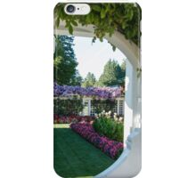 Jenny's Private Garden, Butchart Gardens iPhone Case/Skin