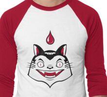 Count Dracula Von Kitteh Men's Baseball ¾ T-Shirt
