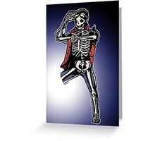 Marty Mcfly BTTF zombiecraig. Greeting Card