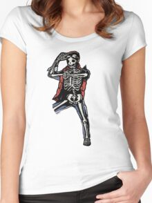 Marty Mcfly BTTF zombiecraig. Women's Fitted Scoop T-Shirt