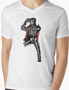 Marty Mcfly BTTF zombiecraig. Mens V-Neck T-Shirt