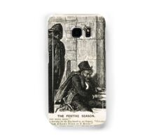 Festive Season Drunk Punch Cartoon 1888 Samsung Galaxy Case/Skin