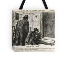 Festive Season Drunk Punch Cartoon 1888 Tote Bag