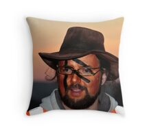 Beltane Steward, Edinburgh, 2011 Throw Pillow