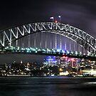 Sydney Harbour Bridge by Peter Billiau