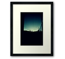 Basel SBB Train Station Framed Print