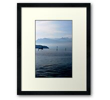Lake of the Four Forested Cantons Framed Print