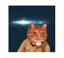 William Catner  Art Print