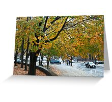 Whispering trees Greeting Card