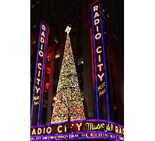 A New York Christmas Photographic Print