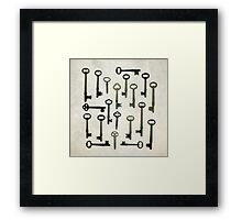 The Key Collection Fine Art Photo Print Framed Print