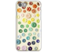 Vintage Button Gradient iPhone case iPhone Case/Skin