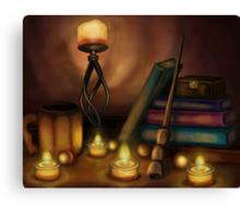 Wizards Still Life Canvas Print