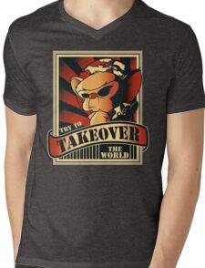 Take over the world Mens V-Neck T-Shirt