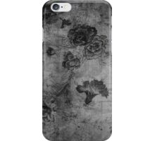 Vintage Flowers Texture iPhone Case/Skin