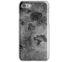 Vintage Flowers Texture iPhone Case/Skin