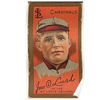Benjamin K Edwards Collection John Lush St Louis Cardinals baseball card portrait Poster