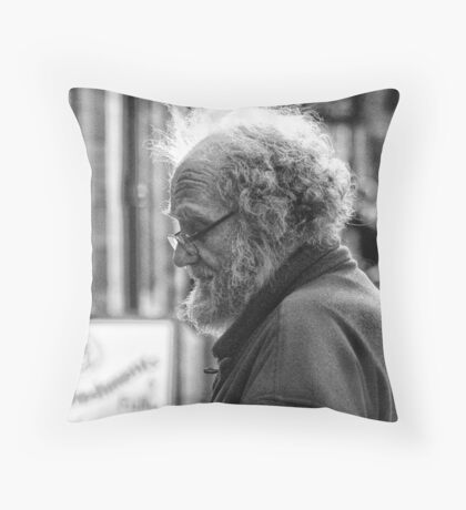 Stains of Time Throw Pillow