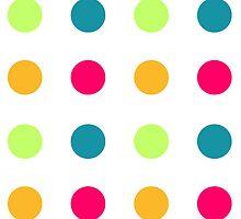 Candy Polka Dot Blue by Rewards4life