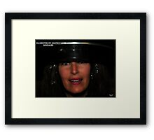 Daughter of Darth Vader Revealed . Framed Print