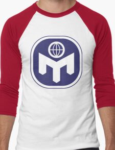 Mensa Real Genius Men's Baseball ¾ T-Shirt