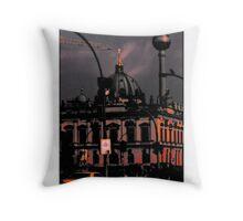 TV TOWER BERLIN Throw Pillow