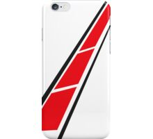 YAMAHA (Red on White) iPhone Case/Skin