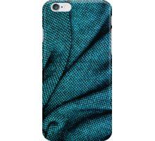Blue Tweed Texture iPhone Case/Skin