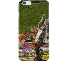 Italian Courtyard, Butchart Gardens iPhone Case/Skin