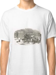 The Holly Cart Victorian Christmas 1848 Classic T-Shirt