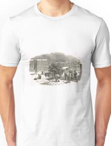 The Holly Cart Victorian Christmas 1848 Unisex T-Shirt