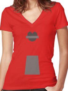 Benson Women's Fitted V-Neck T-Shirt