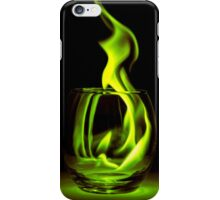 Just a Radioactive Flame iPhone Case/Skin