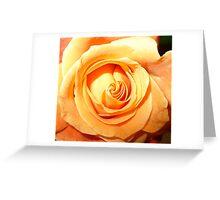 Peach Serenity Greeting Card
