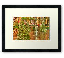 Christmas at Longwood Gardens Framed Print
