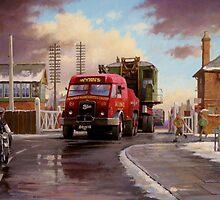 Wynn's Foden Drawbar Tractor. by Mike Jeffries