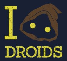 I heart Droids Kids Clothes