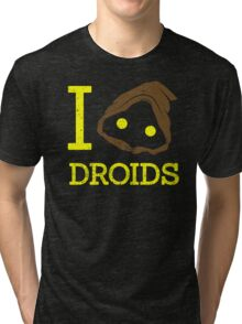 I heart Droids Tri-blend T-Shirt