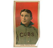 Benjamin K Edwards Collection Johnny Kling Chicago Cubs baseball card portrait Poster