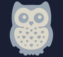 Dusk Pastels Owl Kids Tee
