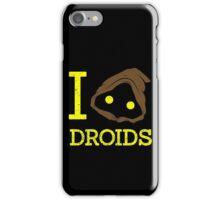 I heart Droids iPhone Case/Skin